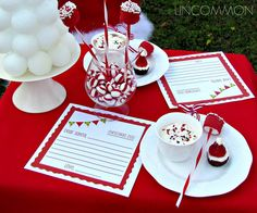 Uncommon Events: Letter to Santa Party { A Free Printable } - Uncommon Designs...