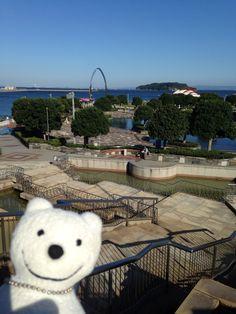 クマ散歩:三笠公園に品行方正なクマ出没 The Bear took a walk around Mikasa Park!♪☆(^O^)/
