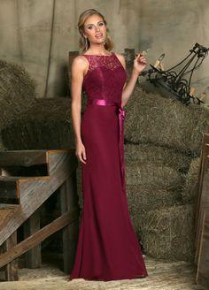 bridesmaid dress long cranberry - Google Search