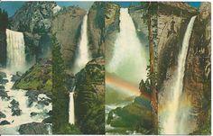 Postcard - Yosimite National Park, California   Postmarked 1969