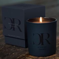 """Our luxury candle is inspired by the Danish word """"Hygge,"""" pronounced """"hue-gah."""" Roughly translated, it means the art of savoring life's simple pleasures."""