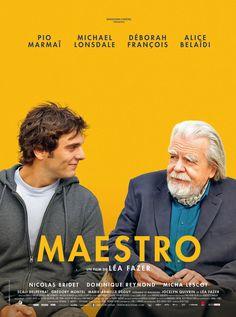 Maestro est un film de Léa Fazer avec Pio Marmai, Michael Lonsdale. Synopsis : Henri, un jeune acteur qui rêve de jouer dans FAST & FURIOUS, se retrouve engagé dans le film de Cédric Rovère, monstre sacré du cinéma d'auteu