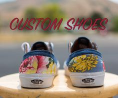 Custom shoes are a great way to stand out from the crowd, express yourself, or even prove you are more fashionable than anyone you know. Unfortunately, doing custom artwork on your favorite pair of kicks is out of the question if you can't draw or paint! With this instructable you will be able to make custom shoes with nothing more than some fabric and basic gluing/scissoring skills. In this instructable I customize a pair of vans shoes, but you can use any shoes you want (although I would…