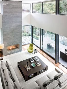 Contemporary Living Room Design Ideas - Living Room - Info Virals - New Fashion and Home Design around the World Home Living Room, Interior Design Living Room, Living Room Designs, Living Spaces, Small Living, Cozy Living, Studio Living, Living Area, Interior Decorating