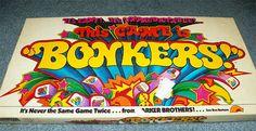Vintage 70s BONKERS Board Game by VintageRainbowShop on Etsy