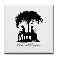 Mr Darcy & Elizabeth Tile Coaster--Jane Austen More Like This: Coasters: mr darcy, bingley, Bennet, get married, care about, pemberley, care for, regency, austen, Pride and Prejudice All Products: mr darcy gifts, bingley gift, Bennet merchandise, get married gift ideas, care about stuff, pemberley themed gear, care for gifts, regency gift, austen merchandise, Pride and Prejudice gift ideas Designer's Shop: Alice Flynn Art & Illustration, Jane Austen Gifts Mr Darcy Jane Austen Tile Coaster