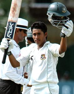 On this day (September 8) in 2001, Mohammad Ashraful of Bangladesh became the youngest man to make a Test century; he did it against Sri Lanka in Sri Lanka. It was the day before Ashraful's 17th birthday, according to some sources, and 63 days after it, according to others; either way, he broke the long-standing record for the youngest centurion, set by Mushtaq Mohammad when he made 101 for Pakistan against India in 1960-61 (17 years, 82 days).
