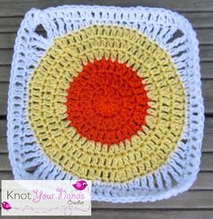 Knot Your Nana's Crochet: Granny Square CAL (Week 8)