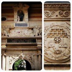 Capitole de Toulouse, cour Henri IV, portail de Nicolas Bachelier (XVIè s.).