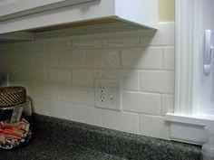 Kitchen Backsplash Subway Tiles crackled subway tiles - kitchen backsplash | inside | pinterest