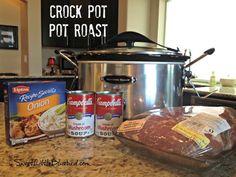 Favorite Pot Roast Recipe - Made In The Crock Pot - Sweet Little Bluebird