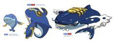 Humpback Whale Pokemon by rei-ann.deviantart.com on @DeviantArt
