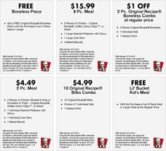 Pinned June 8th: Shave a buck off a 2pc combo and more at KFC coupon via The Coupons App
