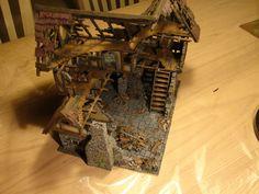 Caserón en ruinas, muy detallado y jugable.