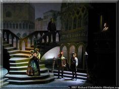 A Tale of Cinderella - Set design and theatre photography by stage photographer, Richard Finkelstein