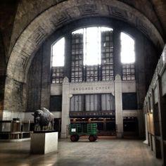 The abandoned Buffalo Central Terminal, Buffalo, New York.