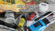 One of the most common questions that I get is what are the must have supplies for art journaling. I haven't been answering this question for a long time and…
