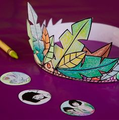 The Jungle Book Color-In Party Hat! #BareNecessities