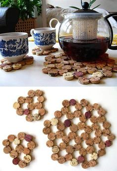 Top 101 DIY Wine Cork Craft Ideas that you can do with your family or by yourself. Collection of one the most beautiful and creative DIY Wine Cork Projects. Diy And Crafts Sewing, Crafts For Boys, Toddler Crafts, Diy Crafts, Rock Crafts, Wooden Crafts, Decor Crafts, Cool Diy, Clever Diy