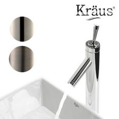 Kraus Bruno Vessel Faucet with Single Lever - Assorted Finishes