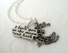 Hey, I found this really awesome Etsy listing at https://www.etsy.com/listing/157145789/i-love-you-to-the-moon-and-back-charm