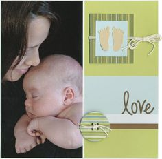 1 photo 12 x 12 scrapbook layout