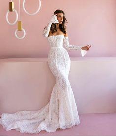 Making A Wedding Dress, Best Wedding Dresses, Bridal Dresses, Bridesmaid Dresses, Pallas Couture, Wedding Looks, Tacky Wedding, Boho Wedding, Elegant Wedding