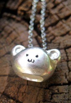bear necklace - too cute @Bekah Carroll Lifer