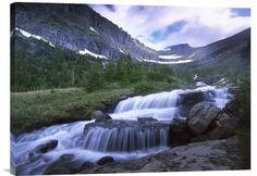 Lunch Creek Cascades, Glacier National Park