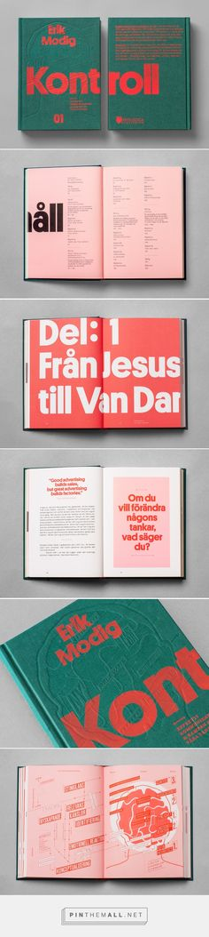 Kontroll on Behance... - a grouped images picture - Pin Them All