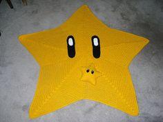hehe Mario Star Blanket!!