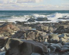 Tom Hughes events, shows, news (excellent reference for painting rocks!)