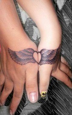 Co-workers' couple tattoo. Couple Tattoos, Fashion, Fashion Styles, Tattoos For Couples, Fashion Illustrations, Trendy Fashion, Moda
