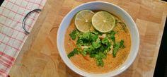tajska zupa z kurczakiem