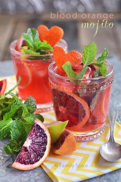 This Blood Orange Mojito adds some dazzling color and extra flavor to this classic Cuban cocktail.