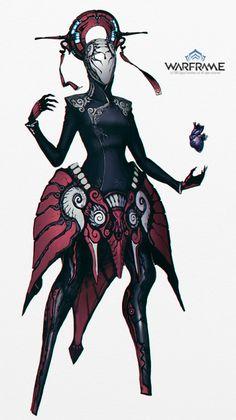 Warframe - Trinity Custom by IgnusDei on DeviantArt Character Creation, Character Concept, Character Art, Concept Art, Ronin Samurai, Science Fiction, Warframe Art, Sci Fi Characters, Creature Concept