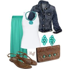 LOLO Moda: Elegant summer fashion for women. I would blend in perfectly in Santa Fe with this outfit.