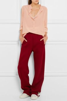 Stella McCartney - Eva Silk Crepe De Chine Blouse - Blush - IT44