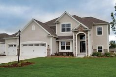 The Birchwood Model in Belle Chases located in Muskego, WI