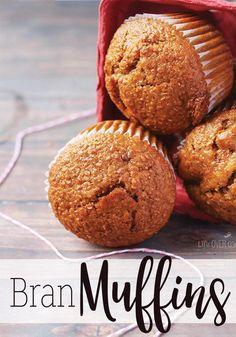 Oat Bran Muffins | Oat Bran Muffins, Bran Muffins and Muffins