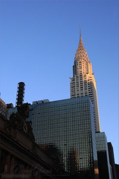 New York City - beautiful NYC, Manhattan - Chrysler Building – Grand Central Station