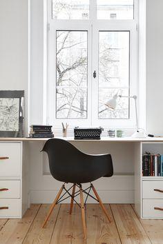 INTERIOR DESIGNER & STYLIST: Agnieszka Suchora / PHOTOGRAPHY & POSTPRODUCTION: Jola Skóra // armchair: Eames / drawing: Andrzej Dudziński