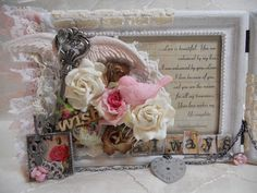 Fayth by design: Shabby Chic Frame (DT project for TPBP)