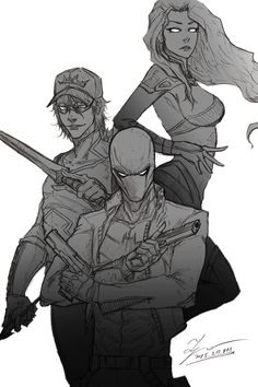 red hood and the outlaws fan art - Google Search