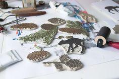 Olga Ezova-Denisova: hand carved rubber stamps