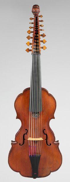 Viola d'amore, 18th century Johannes Florenus Guidantus (Italian) Bologna, Italy