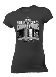 LA Kings Ladies Champs Locker Room Tee