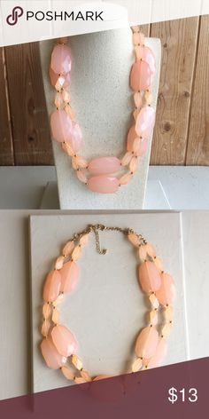 Cute necklace Coral handmade double strand necklace Jewelry Necklaces