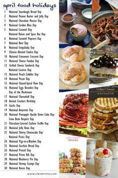 National Food Day Calendar 2022.38 National Food Day Calendar Ideas National Holiday Calendar Silly Holidays Holiday Calendar