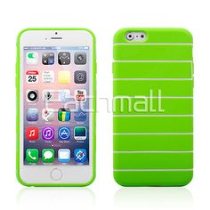 Wholesale Protective Stripe Themed TPU Soft Back Case for iPhone 6 Fashionable Shell Skin